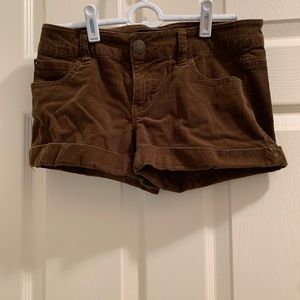 Other - Brown corduroy shorts (juniors).